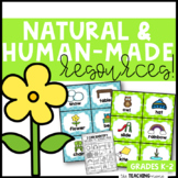 Natural and Man Made Resources! | Distance Learning