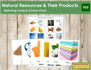 Natural Resources and Their Products