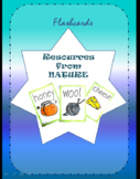 Resources from Nature flash cards- Printables