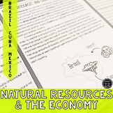 Natural Resources in Latin America's Economy Reading Activity (SS6E3, SS6E3d)