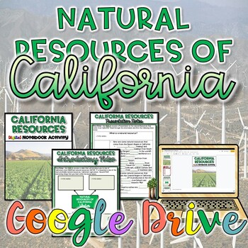 Natural Resources of California {Digital}