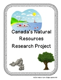 Natural Resources of Canada Research Project