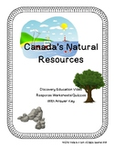 Natural Resources of Canada- Video response worksheet/quiz
