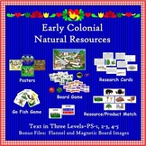 Natural Resources of Colonial America (Complete Bundle)