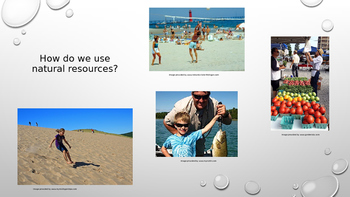 Natural Resources of Michigan Powerpoint