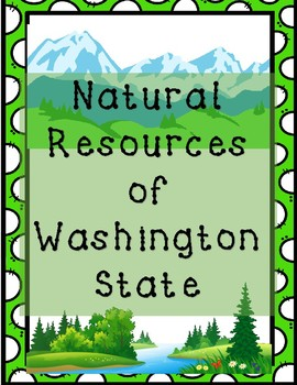 Natural Resources of Washington State