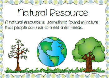 Natural Resources Definition Us History