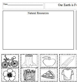 Worksheets On Natural Resources For St Grade