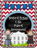 Natural Rights & Federal Government Sort {Social Studies Interactive Notebook}