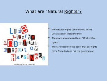 Natural Rights, Federal System and the First Amendment