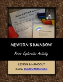 Natural STEAM Activity #3: Newton's Rainbow Prism