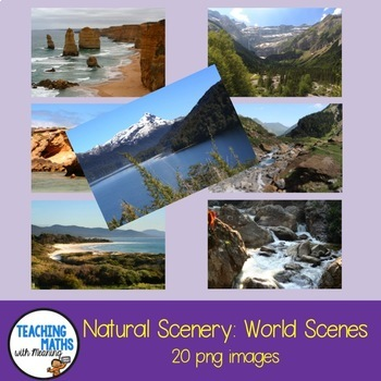 Natural Scenery - Background Digital Photos Clipart