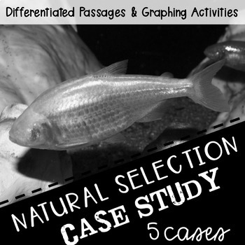 Science Reading Activity: Natural Selection and Graphing BUNDLE