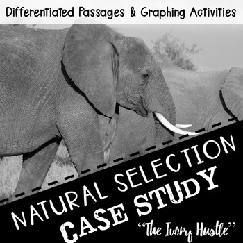 """Science Reading Activity: Natural Selection """"The Ivory Hustle"""""""