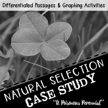 "Science Reading Activity: Natural Selection ""A Poisonous Perennial"""