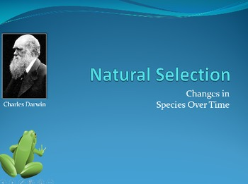 Natural Selection & Evolution Animated PowerPoint
