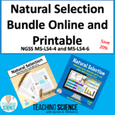 Natural Selection Bundle of Printable and Online Resources