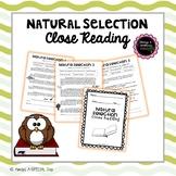 Natural Selection Close Reading