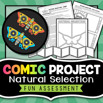 Natural Selection Activity - Comic Strip Project