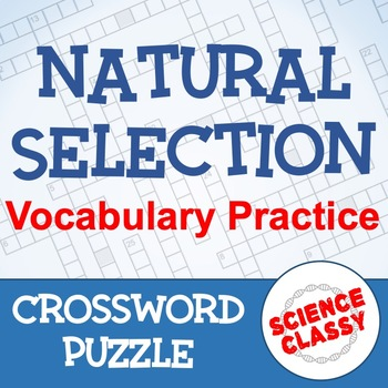 Natural Selection Crossword Puzzle