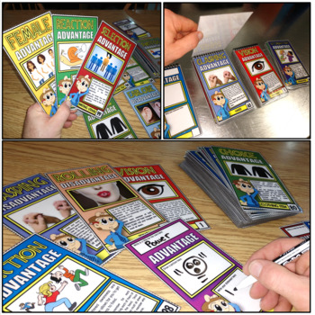 Natural Selection Diversity Classroom Card Game