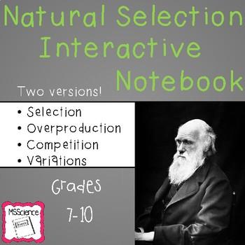 Natural Selection Interactive Notebook