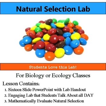 Natural Selection Lab - Use Math Evaluate Natural Selection & Evolution