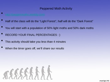 Natural Selection PowerPoint Lesson