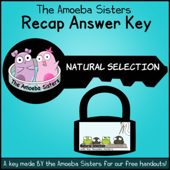 Natural Selection Recap Answer KEY by The Amoeba Sisters (ANSWER KEY)