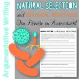 Natural Selection and Biological Resistance Argumentative Writing
