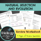 Natural Selection and Evolution Review