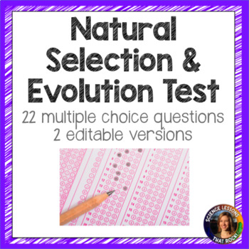 Natural Selection and Evolution Test