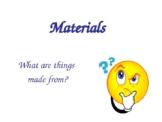 Natural V. Man-made materials PowerPoint