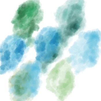 Natural Watercolor Splotches Clipart By Taracotta Sunrise