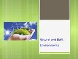 Natural and Built Environments vocabulary warm-up