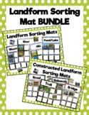Natural and Constructed Landform Sorting Mat Bundle