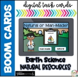 Natural and Man-made Resources Boom Cards (Distance Learning)