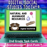 Natural and Manmade Resources Digital Social Studies Tooth