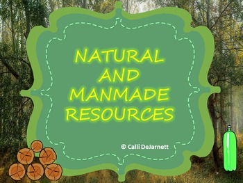 Natural and Manmade Resources Interactive PowerPoint