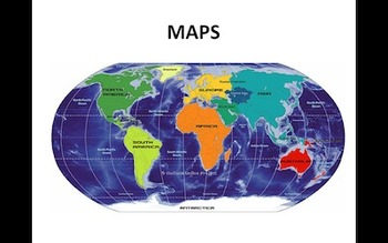 Natural features on a map (quizz)