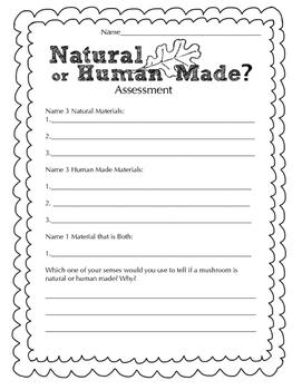 Natural or Human Made Science Observation Assessment
