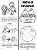 Natural resources/ Recursos naturales bilingual book