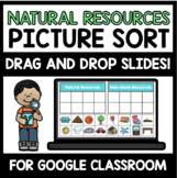 "Natural vs. Man-Made Resources Digital Interactive Sort (""Google Slides"")"