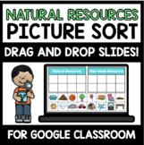 "Natural vs. Man-Made Resources Digital Interactive Sort ("""