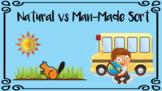 Natural vs Man-Made Resources Sort