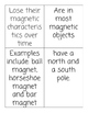 Natural vs. Man-made Magnets Detective Game!