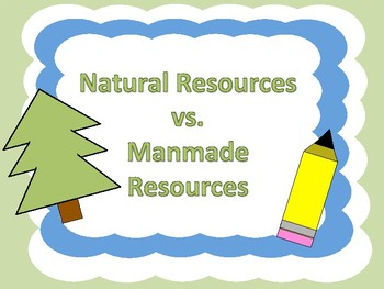 Natural and Manmade Resources