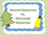 No Prep! Natural and Manmade Resources