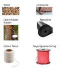 Natural vs Synthetic Materials Card Sort