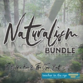 Naturalism Bundle: Close Reading Units Jack London Stephen Crane